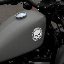 Harley Davidson Skull - Fan Sticker, Motorcycles, Biker, Chopper Aufkleber