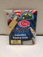2016 SMK Case Zippo Collectible Trading Cards set #001