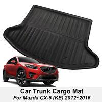 For Mazda Cx-5 Cx5 2012-2016 Rear Trunk Boot Mat Liner Cargo Tray Floor Carpet