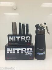 1 case 100 whip Cream Chargers  NITR WHIPPED BLACK