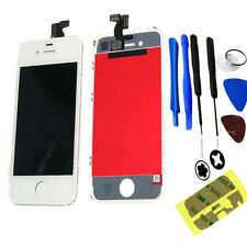 Iphone 4 4G LCD Display + Touch Screen Digitizer Glass & Tools Sticker White UK