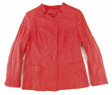 GALLINA COLORI Blazer 38 rosso Giacca by LYBWYLSEN Misto cotone top