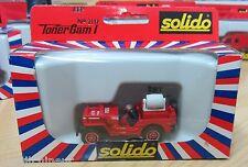 Solido pompiers 1/43 Tonergam I 2117 Jeep S.D.I du var cogolin