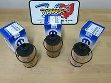 2011-2019 Ram 1500 Jeep Grand Cherokee 3.0L Diesel Oil Filter Set of 3 Mopar OEM