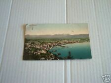 cartolina postcard BREGENZ - PANORAMA 1910