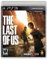 The Last of Us (Sony PlayStation 3, PS3) Brand New Factory Sealed