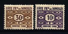 FRENCH SOMALI COAST - COSTA FRANCESE SOMALA - 1947 - Segnatasse
