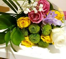 FRESH FLOWERS Delivered UK Bouquet Free Message Gift Birthday Anniversary