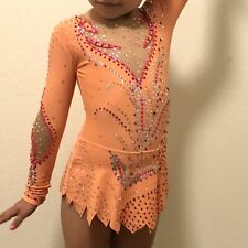 Beautiful custom competition Rhythmic Gymnastics Leotard 5-6y.o.