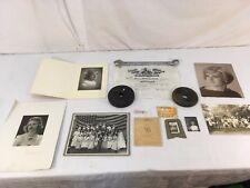 Late 1800s-1900s Photographs/High School Diploma From Colorado Springs Colorado