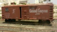 Athearn BB 40' Boxcar, Santa Fe, Grand Canyon, Upgraded, Exc