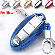 TPU Remote Key Cover Case Fob Shell for Nissan Infiniti 3 4 5 Buttons Keyless