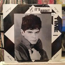 """NM 12""""~EP~MARKUS~It's About Time~{4 Track EP~Robert Palmer/Beatles Covers]~[1988"""