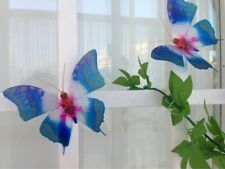 Decor 3d Butterfly stickers Colourful Starburst natural BUTTERFLIES REALISTIC