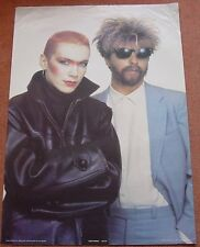 Eurythymics UK Personality Poster Anabas 1983