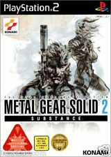 Used PS2 Metal Gear Solid 2: Substance SONY PLAYSTATION JAPAN IMPORT
