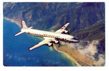 1956 AA American Airlines Issued Douglas DC-7  Postcard
