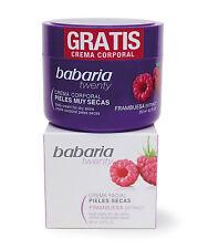 Babaria Aloe Vera & Raspberry Face Cream for Dry Skin 50ml + free Body Cream