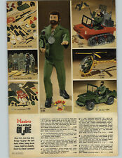 1974 PAPER AD Hasbro Action Figure G I Joe Talking Trouble Shooter Helicopter