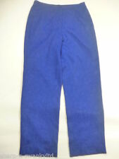 Unbranded Straight Leg High Rise 28L Trousers for Women