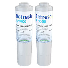 Fits Maytag MFI2568AEW Refrigerator Water Filter Replacement by Refresh (2 Pack)