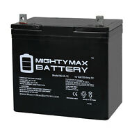 Mighty Max 12V 55Ah SLA Battery Replacement for Power Sonic PS-12550