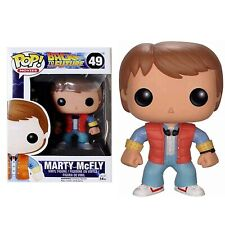 Pop Movies 61 Marty McFly Funko Figure Vaulted RARE Back to The Future Jjl131109