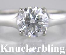 Platinum Excellent Cut Not Enhanced VVS1 Fine Diamond Rings