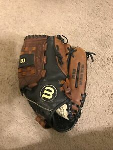 Wilson Pro Select Baseball Glove A2476 Grade Leather Right Handed Thrower 12 1/2