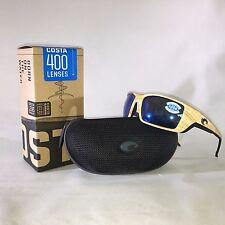 new Costa del Mar PERMIT Polarized Sunglasses ASHWOOD/BLUE MIRROR 400G 400 G