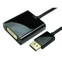DisplayPort V1.2 to DVI-D Adapter, 4k (Active)