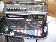 VINTAGE SANKYO STR 255 AM/FM CASSETTE TAPE  WORKS GREAT IN BOX GOOD