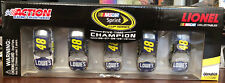 2010 Jimmie Johnson 1x 2x 3x 4x 5x Champion Lowes 5 car 1:64 scale set Champ