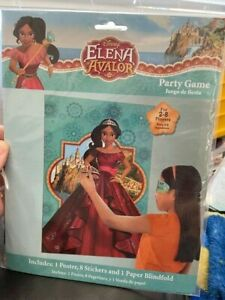 ELENA OF AVALOR PARTY GAME POSTER ~ Birthday Supplies Decoration Activity Disney