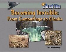 Becoming Invisible: From Camoflage to Cloaks (Great Idea)