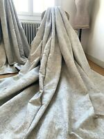 "LAURA ASHLEY CURTAINS ""WHINFELL"" pale GREY contemporary CHIC blackout IMMACULATE"