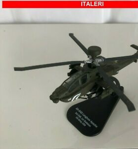 ELICOTTERI MILITARI ITALERI 1:100 AEREO MILITARY HELICOPTER AH-64D Apache