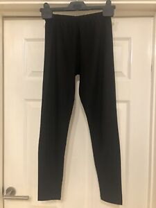 BNWOT Black AllSaints Bandeau Leggings Size UK 8