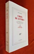 JEAN PAULHAN.- Choix de Lettres III (Exemplaires du Tirage de Tête) : 1946-1968
