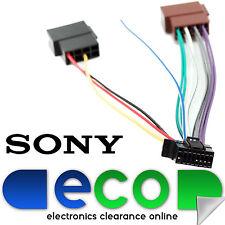 Sony Nuevo Estilo 16 Pin auto estéreo arnés de cableado ISO Sony Auto Estéreo Cable de alimentación