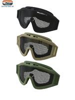 Tactical Operators Mesh Goggles Steel Mesh Lens Foam Padding Airsoft Paintball