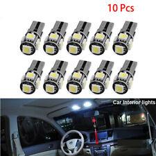 10Pcs T10 5050 W5W 194 5SMD LED Canbus Error Free Car Interior Light Bulb Kit