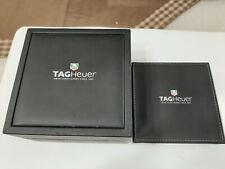 Tag Heuer scatola orologi watch box Formula 1 Quartz con manuale