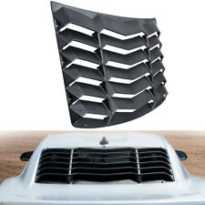 Rear Window Louver Sun Shade Cover Scoop Vent Hardware Kit For Chevrolet Camaro
