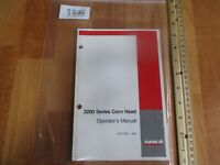 CASE 2200 Series Corn Header Operator's Manual 87011387