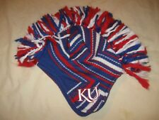 Kansas Jayhawks Beanie Hat Stocking Cap Mohawk Youth Boys Adidas KU NCAA