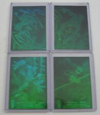 1994 FLEER Amazing Spider-Man 3-D HOLOGRAM INSERT CHASE CARD Set of 4 nm/MINT