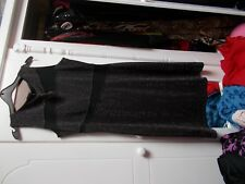 SARA NEAL GLIDTA DRESS UNUSED TAG BLACK 14