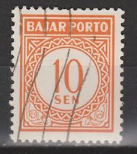 Indonesie port 14 used portzegel 1958 MUCH MORE DUE STAMPS INDONESIA