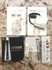 IT Cosmetics Sample Set Superhero Mascara Bye Bye Pore Brow Power Confidence Lot